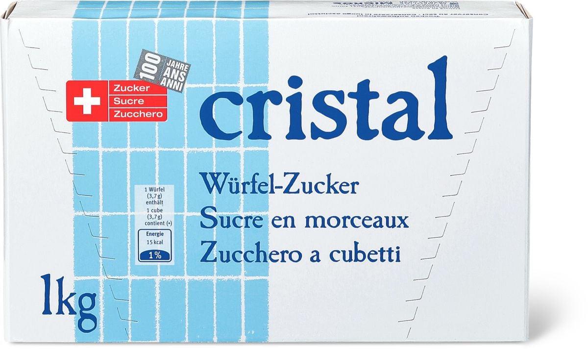 Cristal zucchero a cubetti