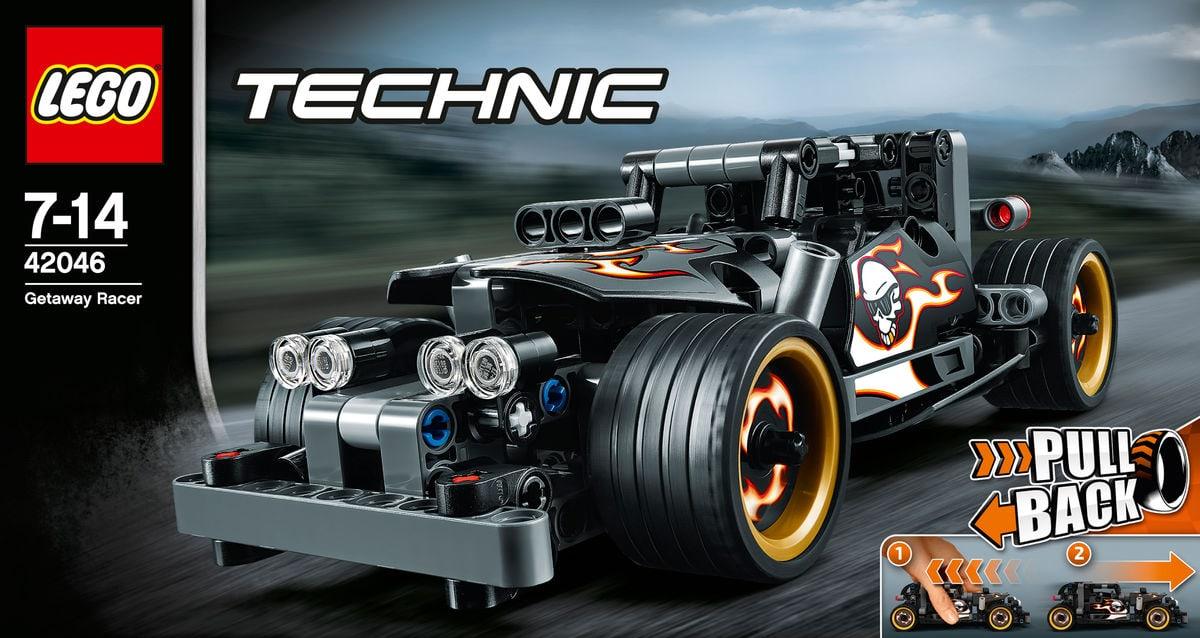 lego technic la voiture du fuyard 42046 migros. Black Bedroom Furniture Sets. Home Design Ideas
