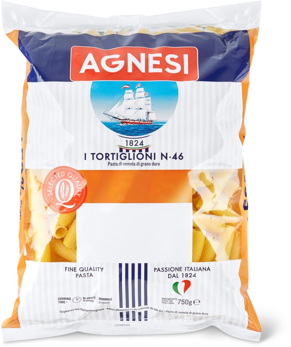 Agnesi-Spaghetti, -Pennette oder -Tortiglioni