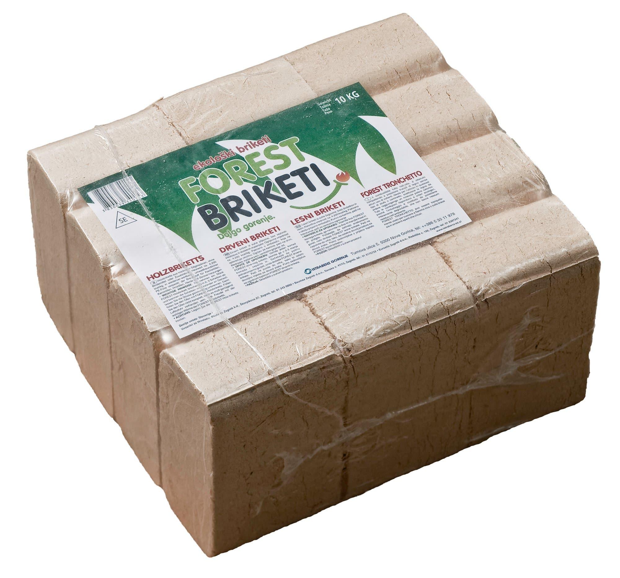 Buches de bois Forest RUF, 10 kg