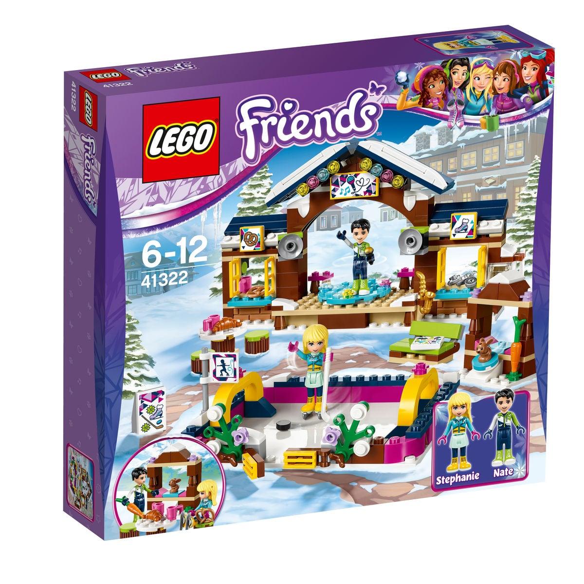 LEGO Friends La pista di pattinaggio del villaggio in 41322