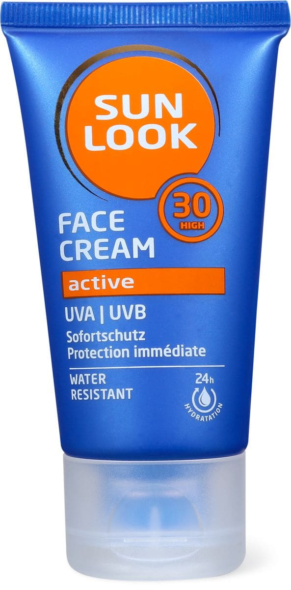 Sun Look Active Face Cream SF30
