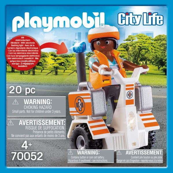 PLAYMOBIL 70052 Secouriste