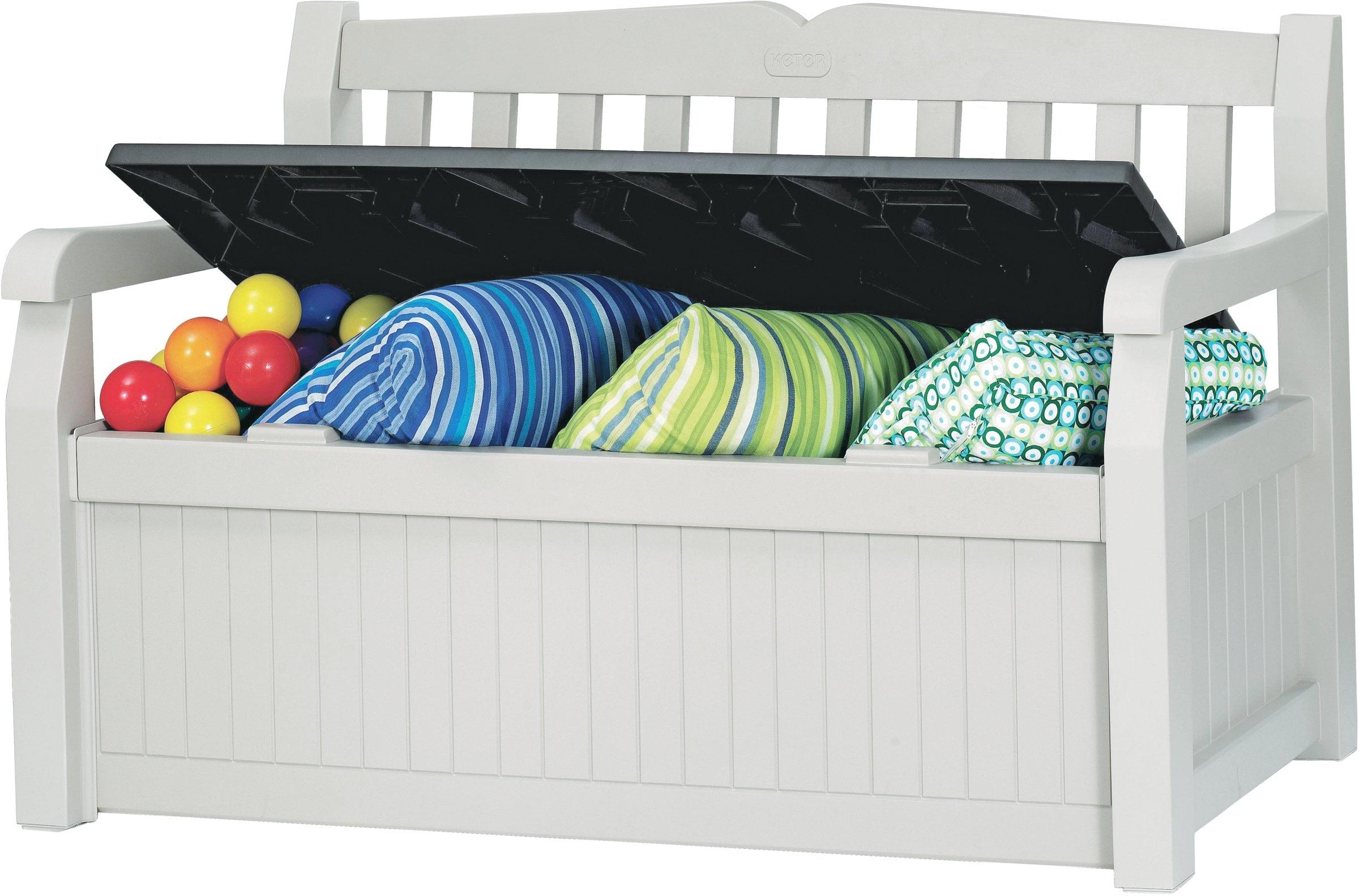 keter kunststoff gartenbank migros. Black Bedroom Furniture Sets. Home Design Ideas