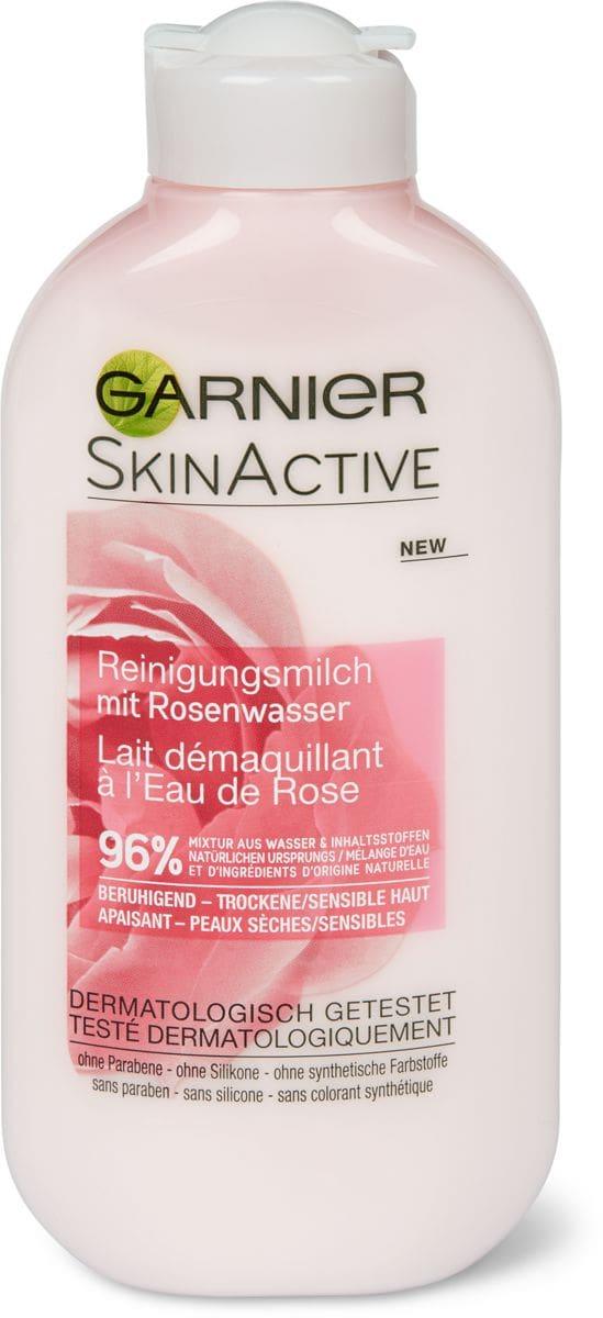 Garnier Natural Rose Latte detergente