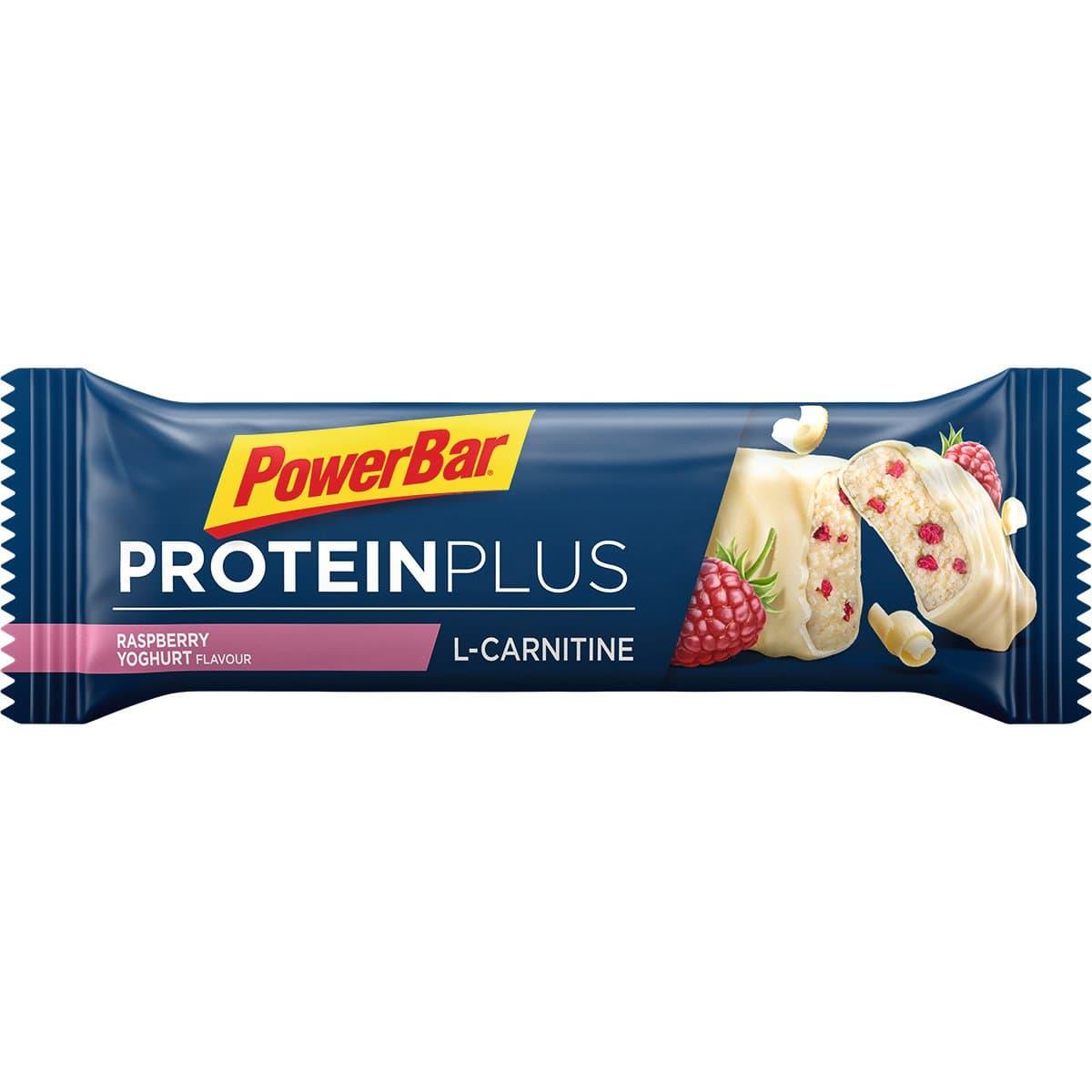 Powerbar Protein Plus L-Carnitin Riegel Himbeer Barretta