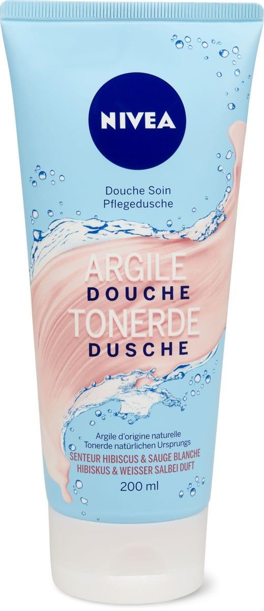 Nivea Douche Soin Argile Hibiscus & Sauge Blanche