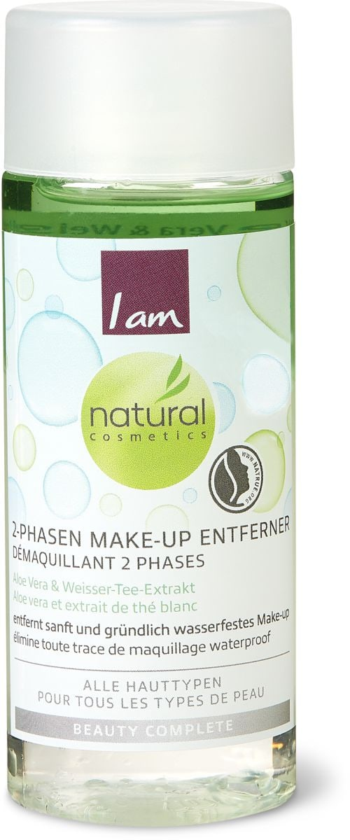 I am Natural Cosmetics 2 phasen make up remover