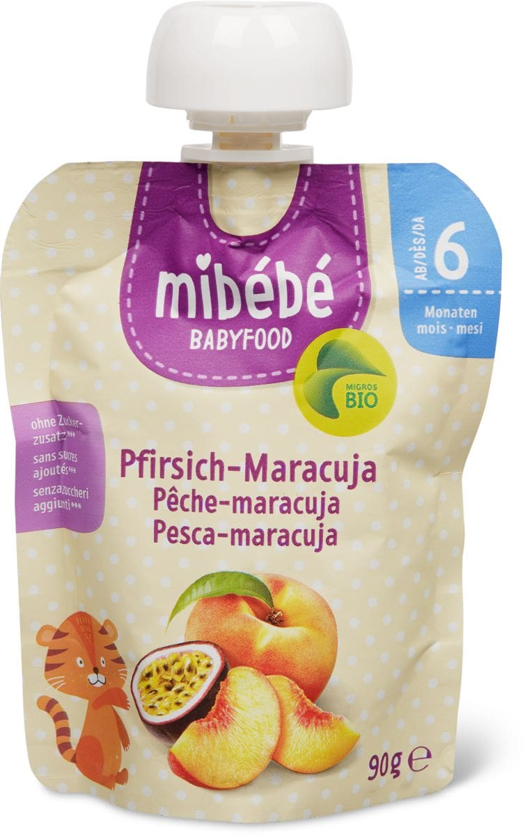 Mibébé Pfirsich-Maracuja