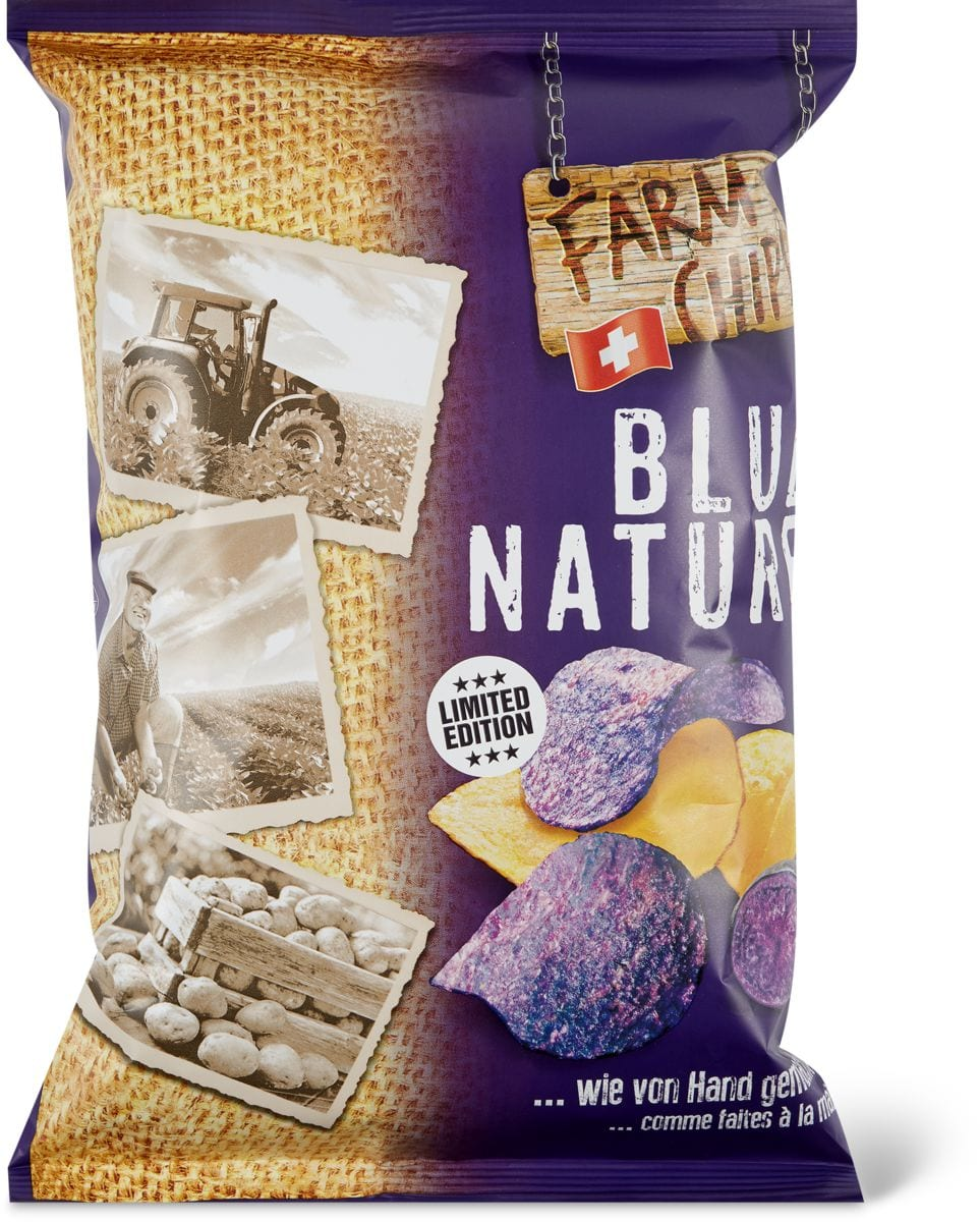 Farm Chips Blue/nature