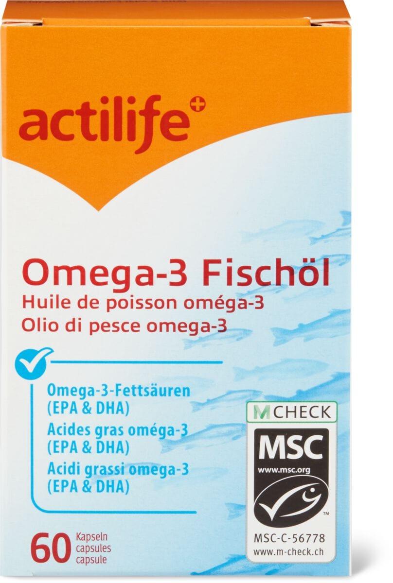 Actilife Omega-3 Fischöl