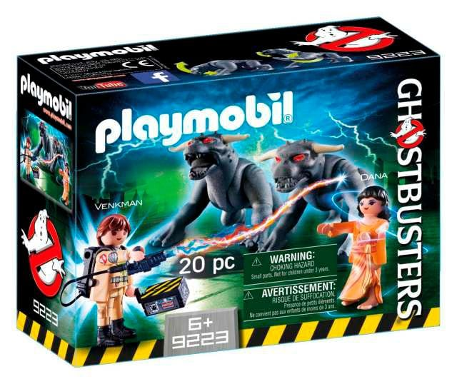 Playmobil Ghostbusters Venkman, Dana e i cani infernali 9223