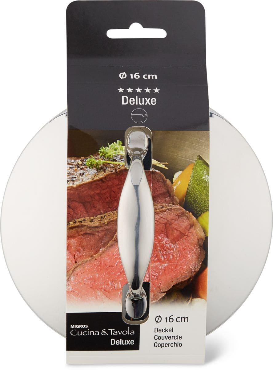 Cucina & Tavola DELUXE Couvercle 16cm