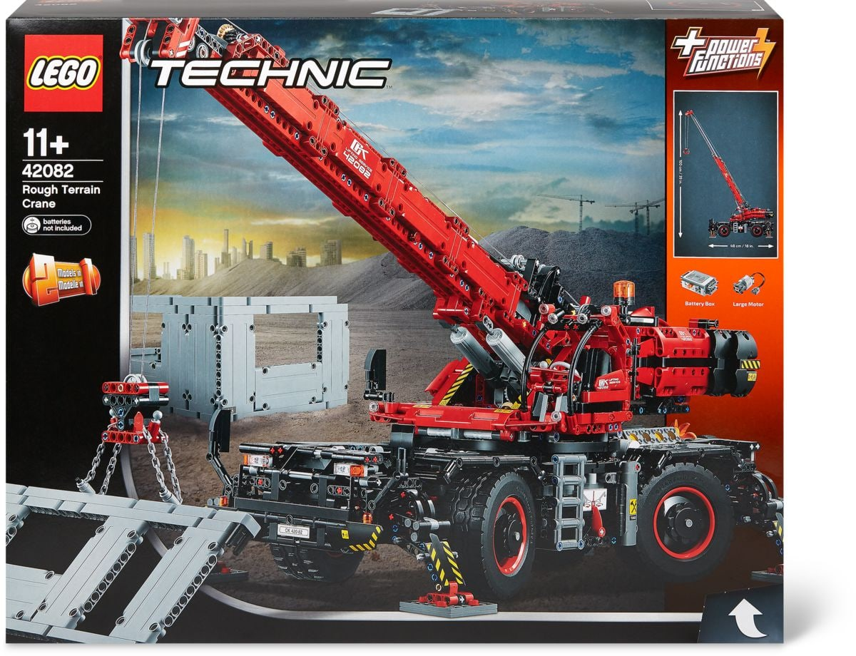 lego technic la grue tout terrain 42082 migros. Black Bedroom Furniture Sets. Home Design Ideas