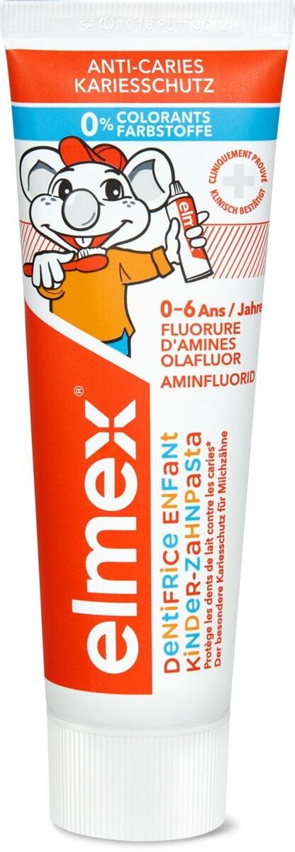 Elmex dentifrice pour enfants