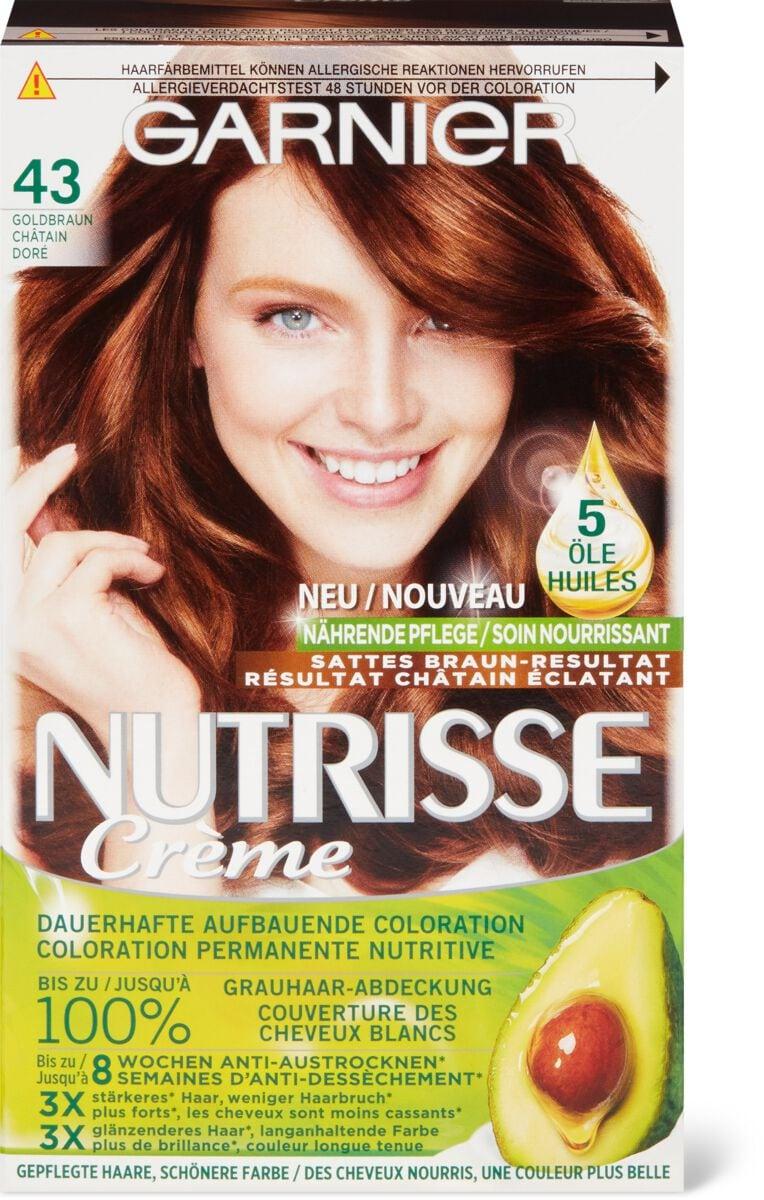 Garnier Nutrisse 43 châtain doré