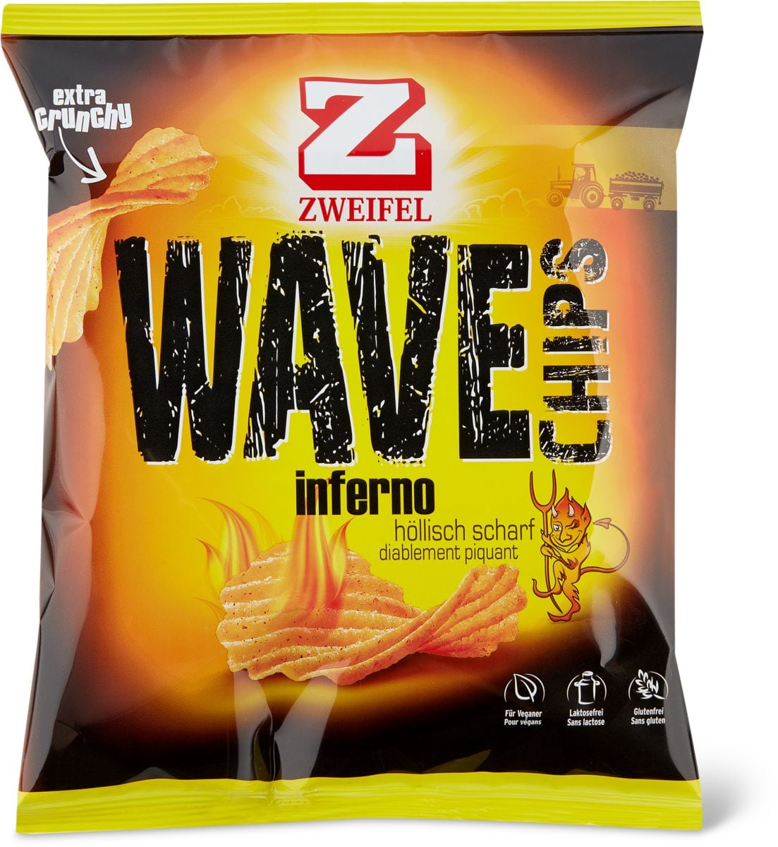 Zweifel Wave Chips Inferno