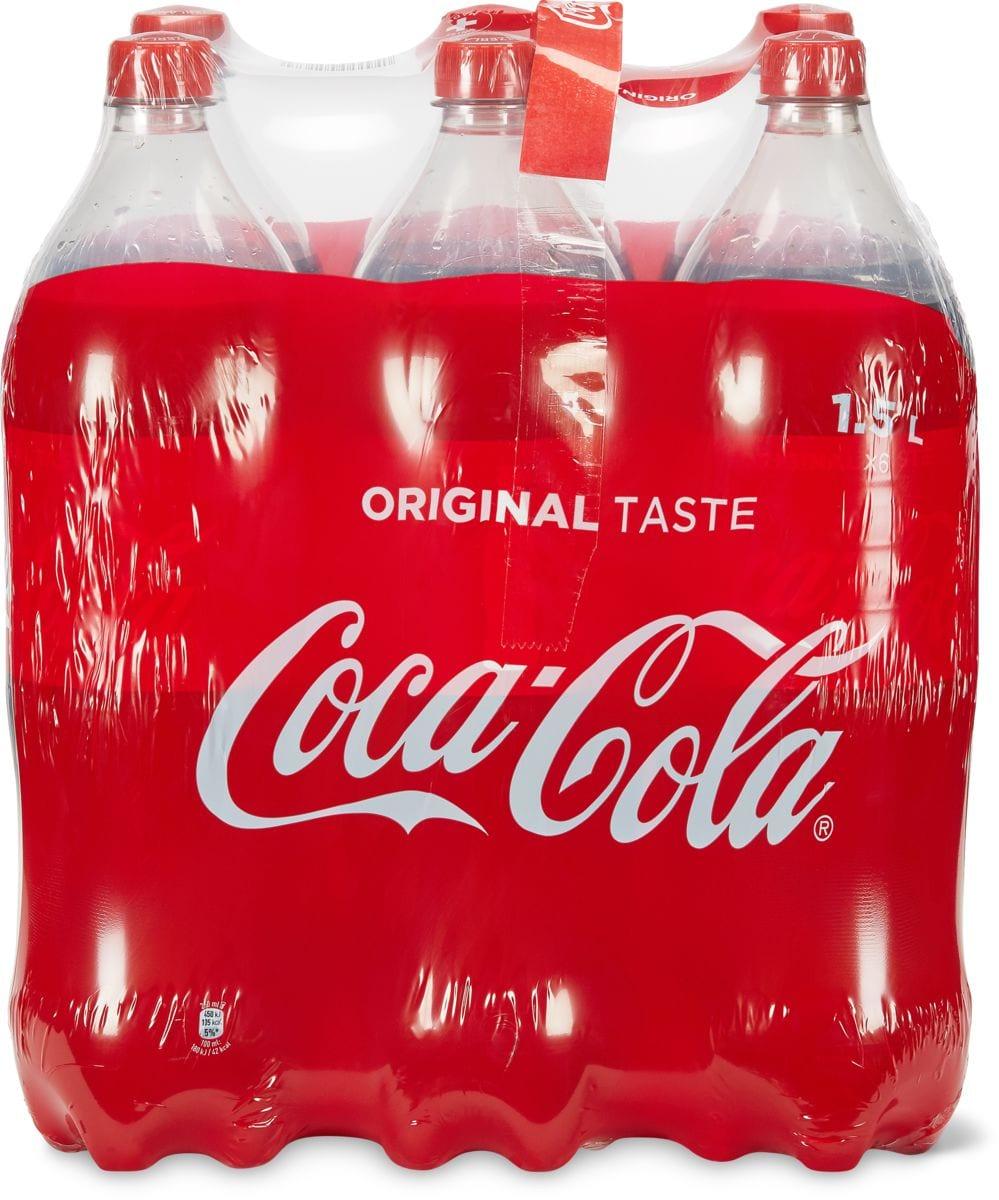Alle Coca-Cola im 6er-Pack, 6 x 1.5 Liter