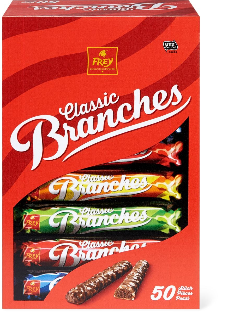 Frey Branches Classic im 50er-Pack, UTZ