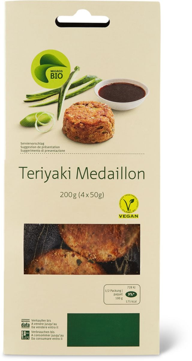 Bio Teriyaki Médaillon