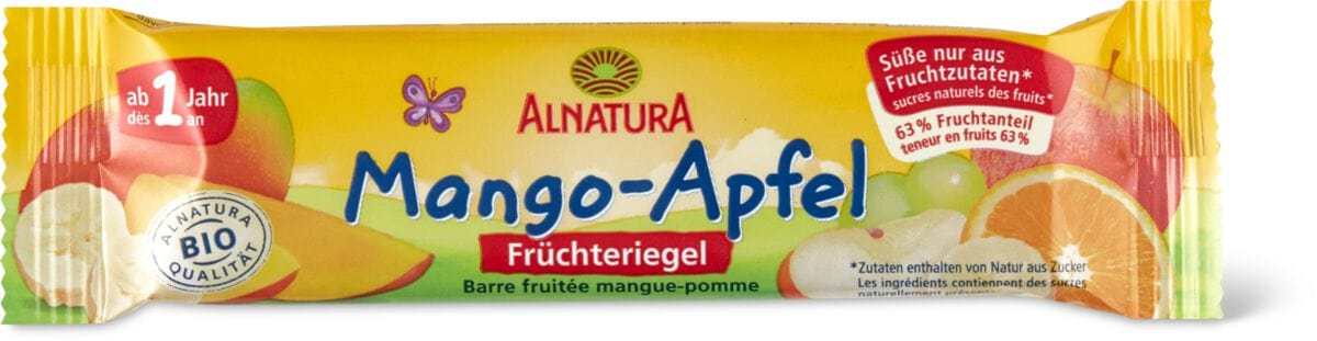 Alnatura Riegel Mango Apfel