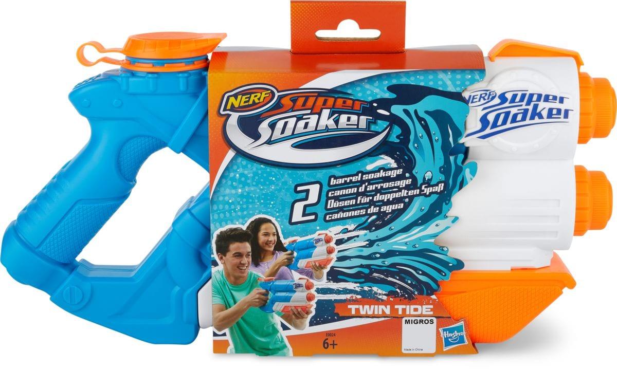 Nerf Super Soaker Twin Tide Armi giocattolo