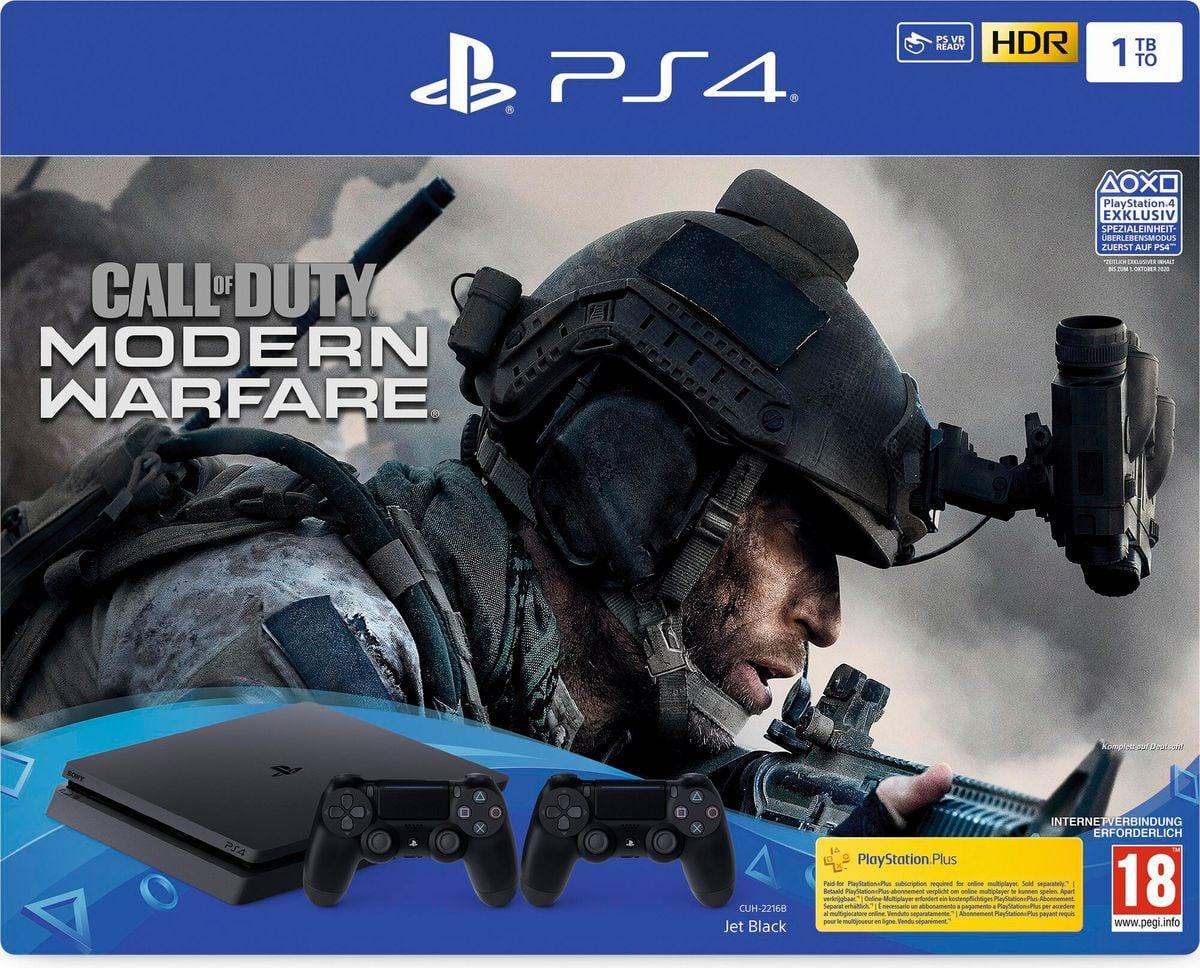 Sony PlayStation 4 1TB inkl. Call of Duty: Modern Warfare + 1 Dualshock Controller Konsole