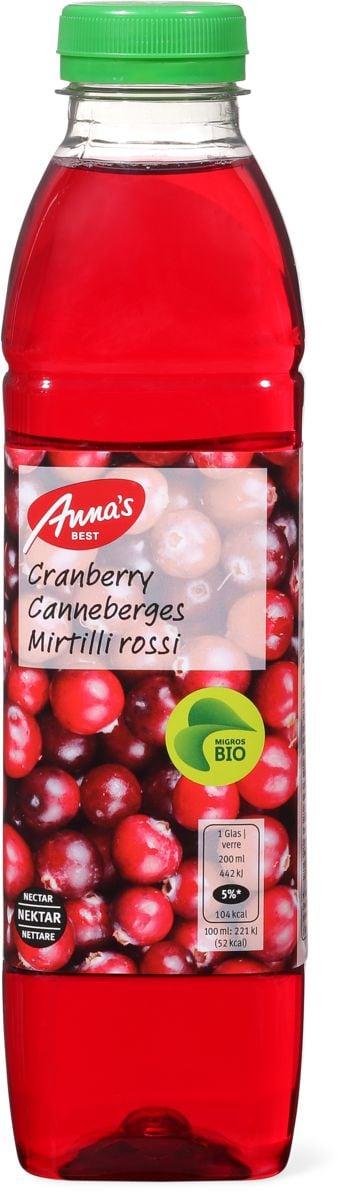 Bio Anna's Best Nectar canneberges