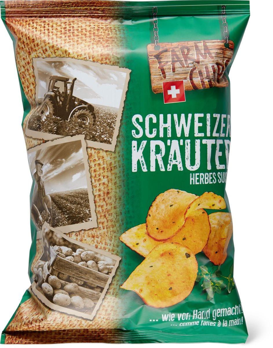 Farm Chips Schweizer Kräuter
