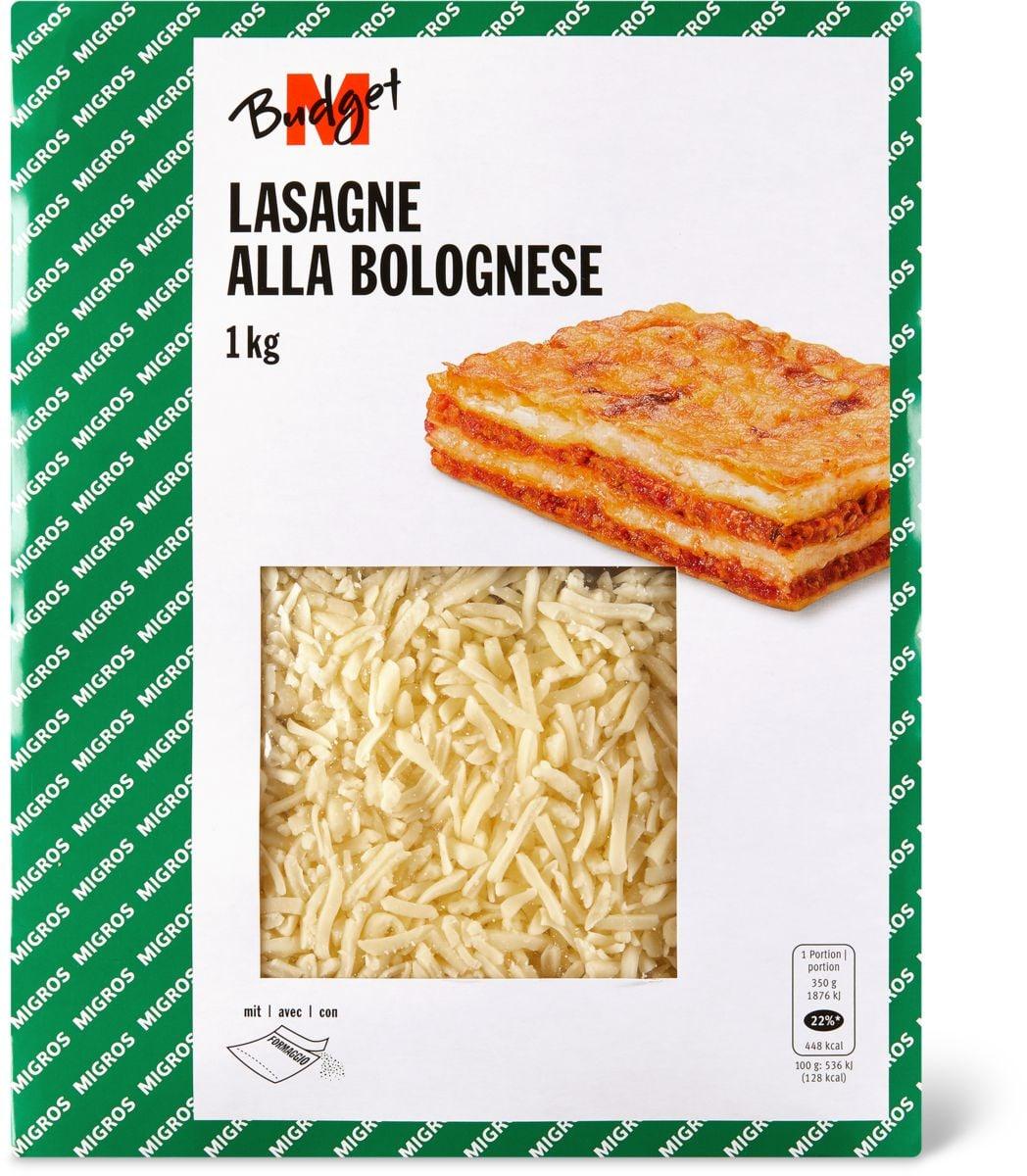 M-Budget Lasagne Bolognese