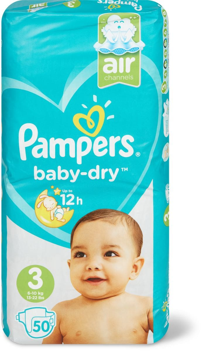 Pampers Baby Dry Gr. 3