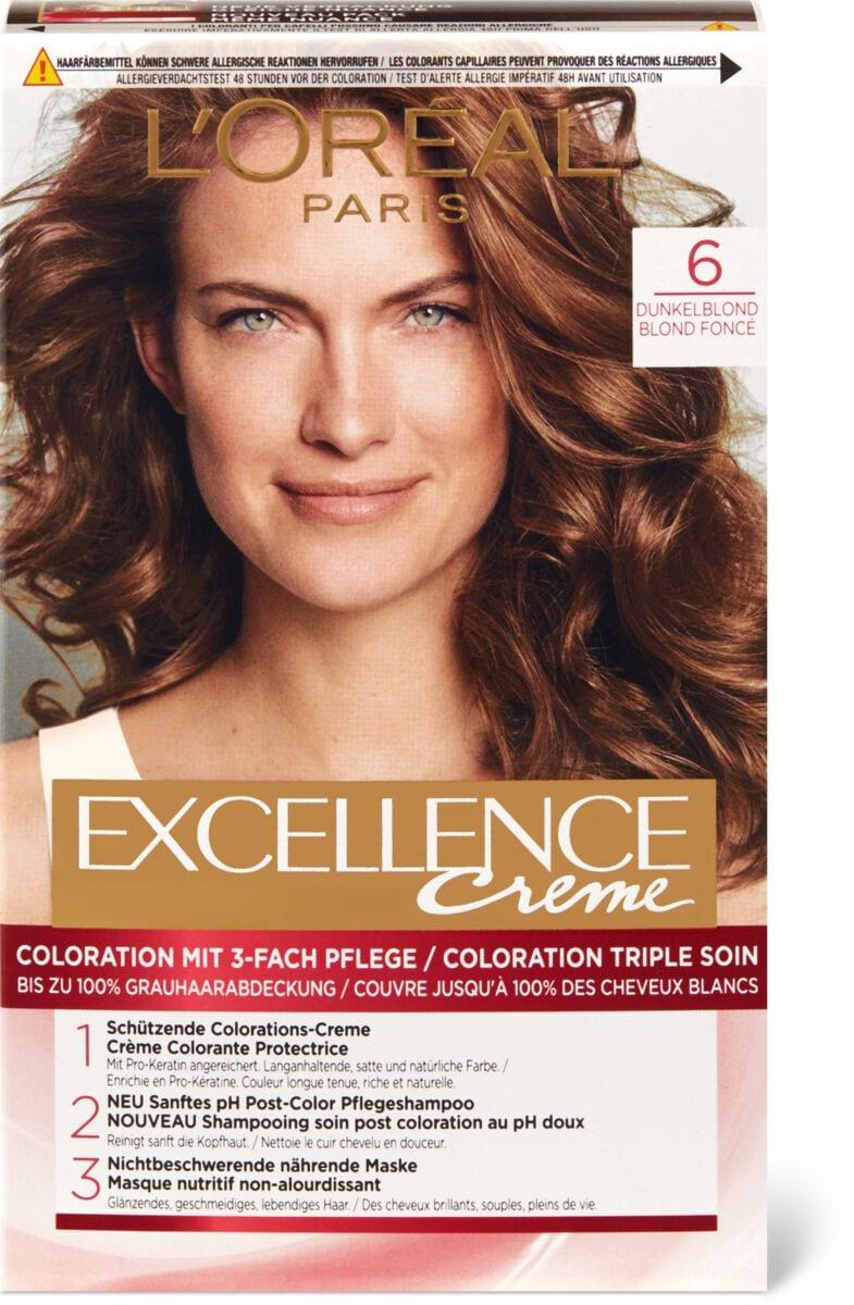 L'Oréal Excellence Creme 6 Dunkelblond