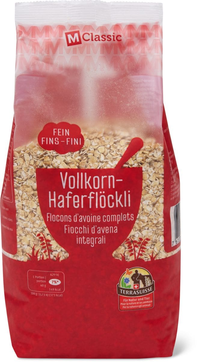 M-Classic Terra-Suisse Haferflöckli