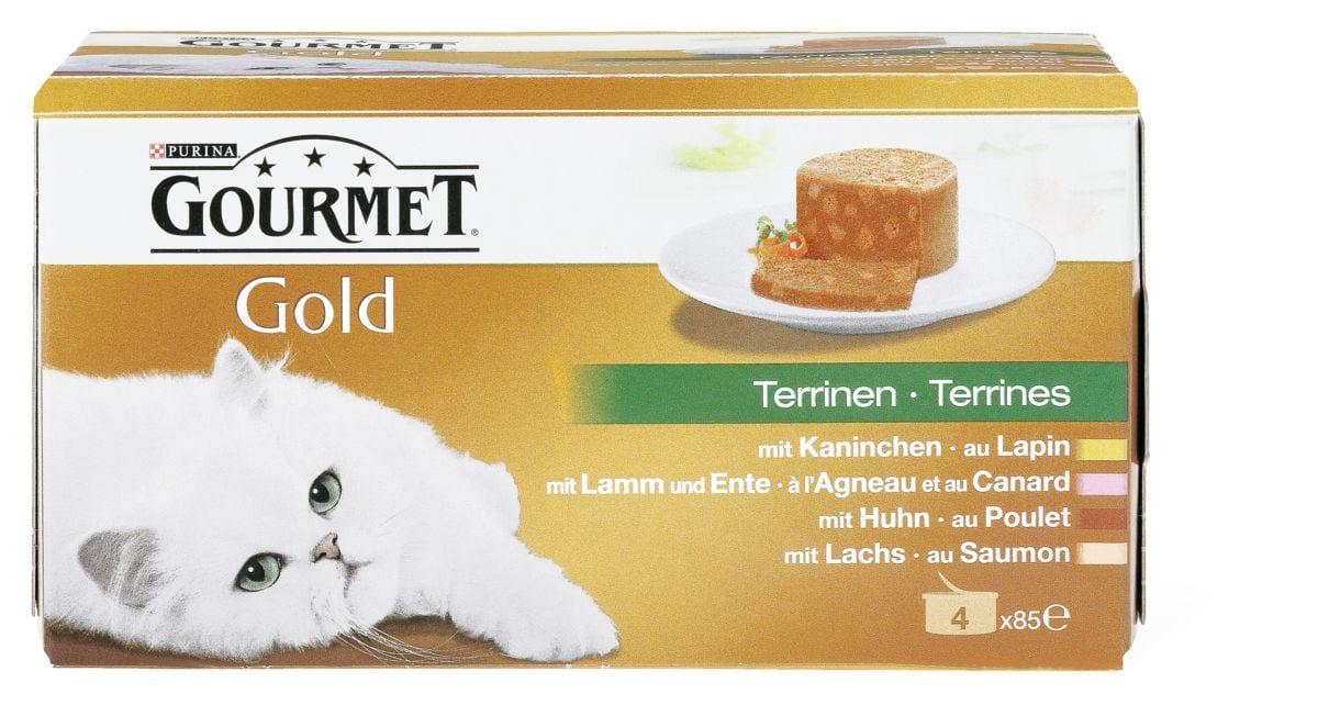 Gourmet Gold terrines