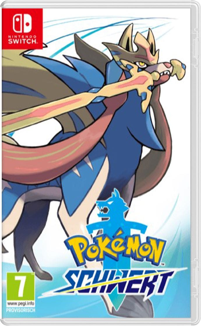 Nintendo NSW - Pokémon Schwert Box