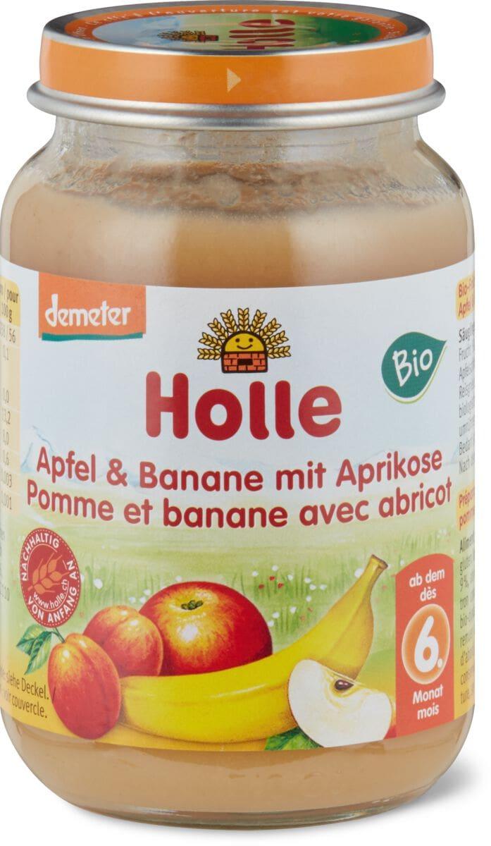 Apfel Banane Aprikos