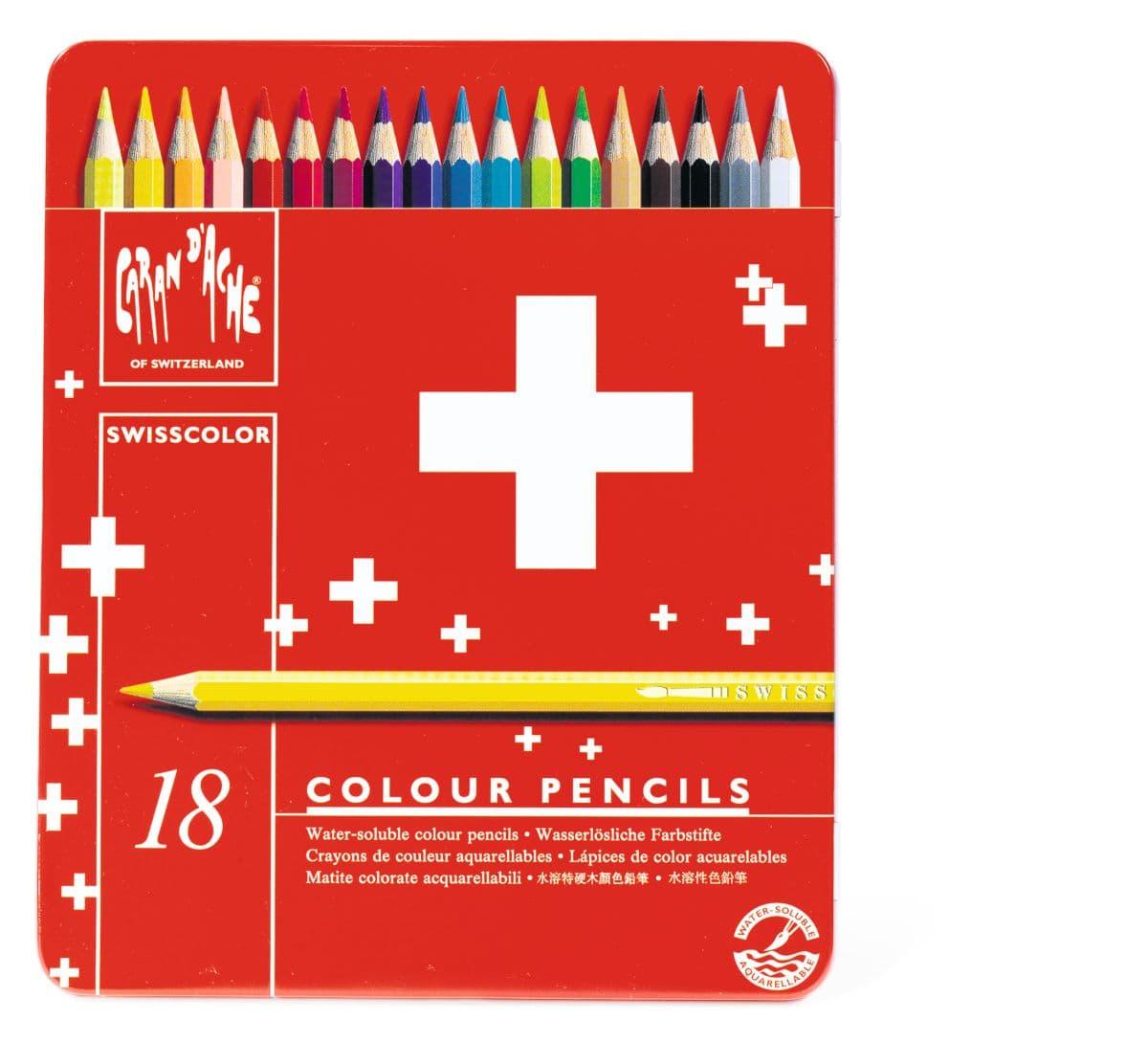 Caran D'Ache SWISSCOLOR Crayons de couleur