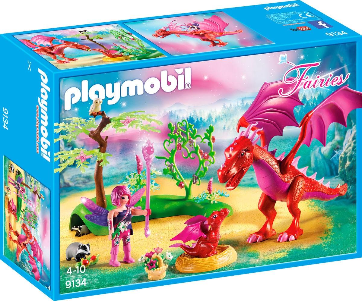 Playmobil Fairies Drago con cucciolo 9134