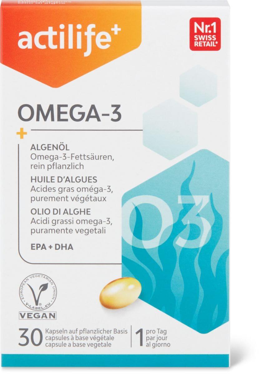 Actilife Omega-3 Algenöl
