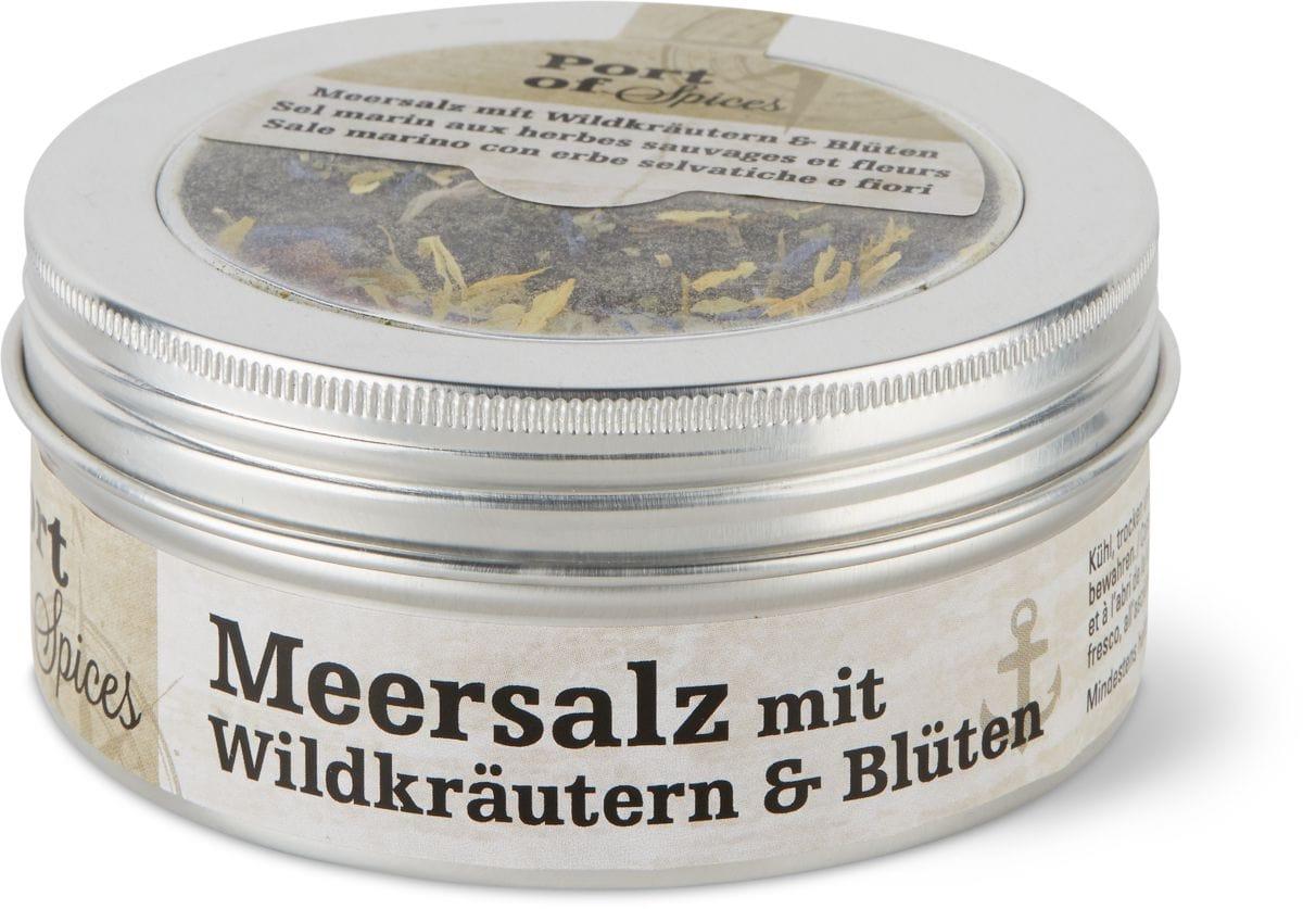 Meersalz Wildkräuter & Blumen