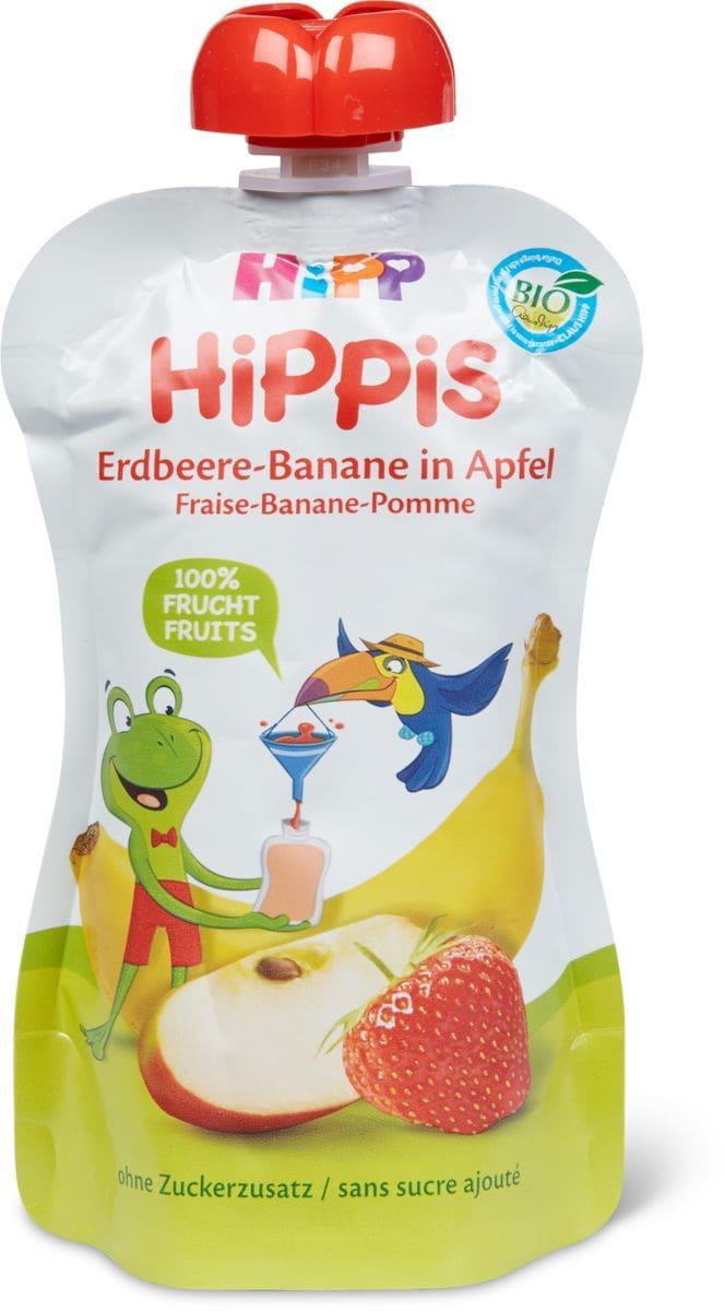 Hipp Gourde pomme fraise banane