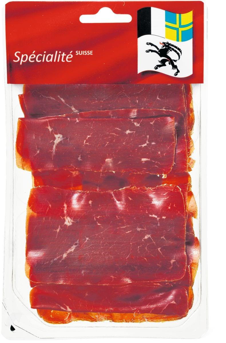 Bündnerfleisch hauchdünn geschnitten