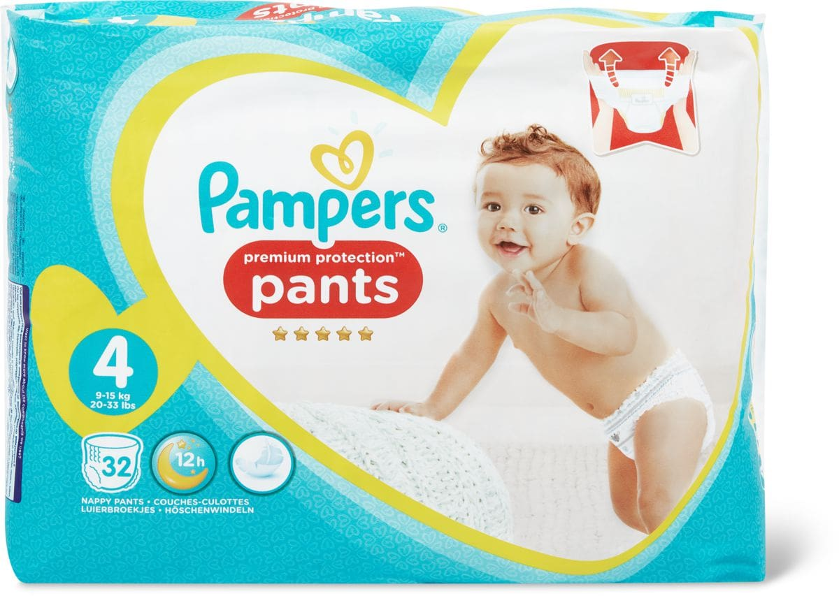 Pampers Protection Pants Maxi Gr. 4