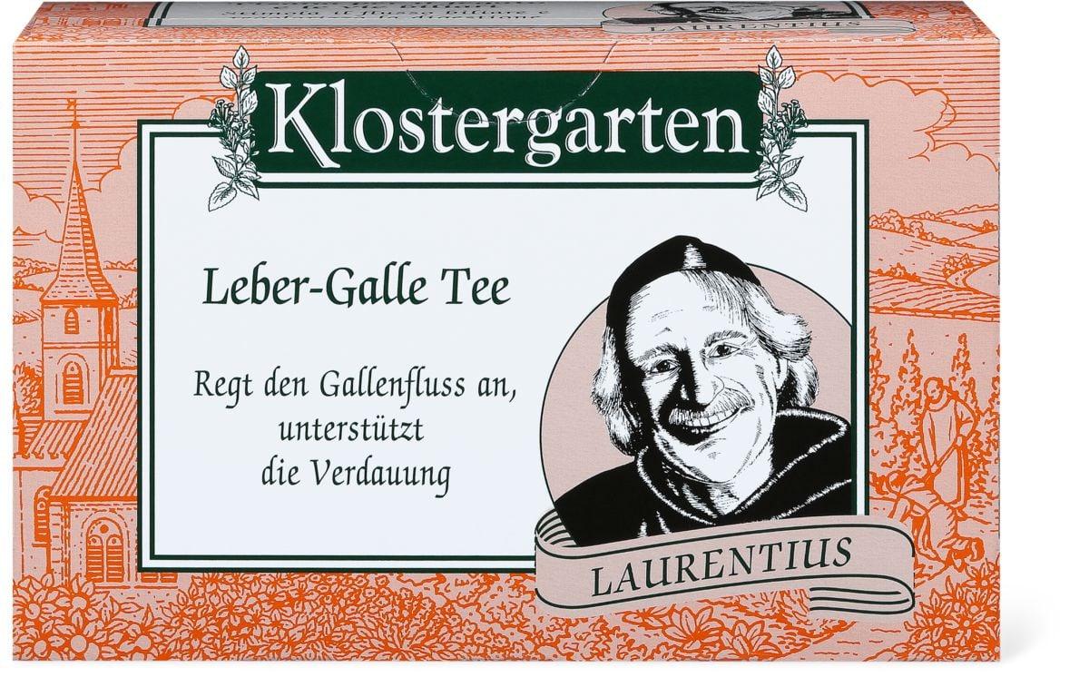 Klostergarten Tisane biliaires hépatiques
