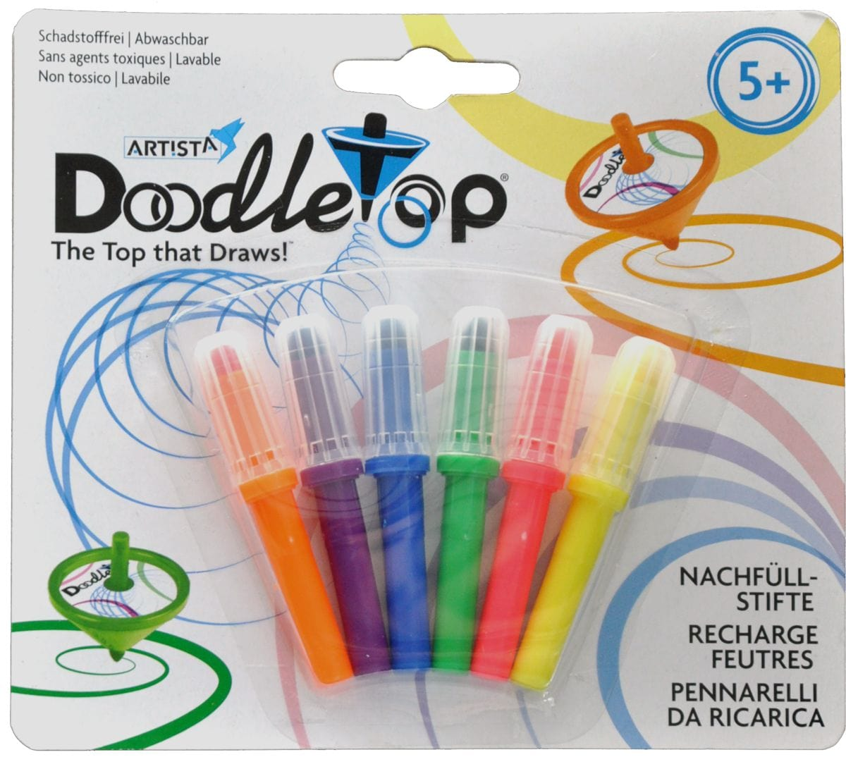 Double doodle Refill Colorare