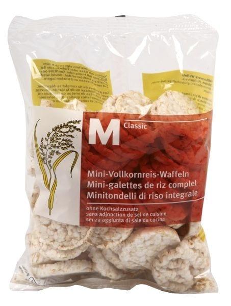 M-Classic Mini galettes riz complet