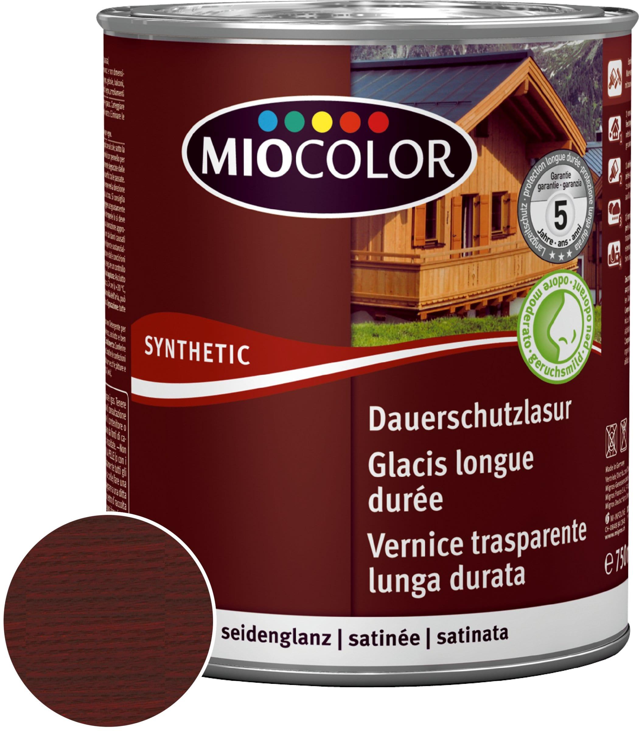 Miocolor Vernice trasparente lunga durata Palissandro 750 ml