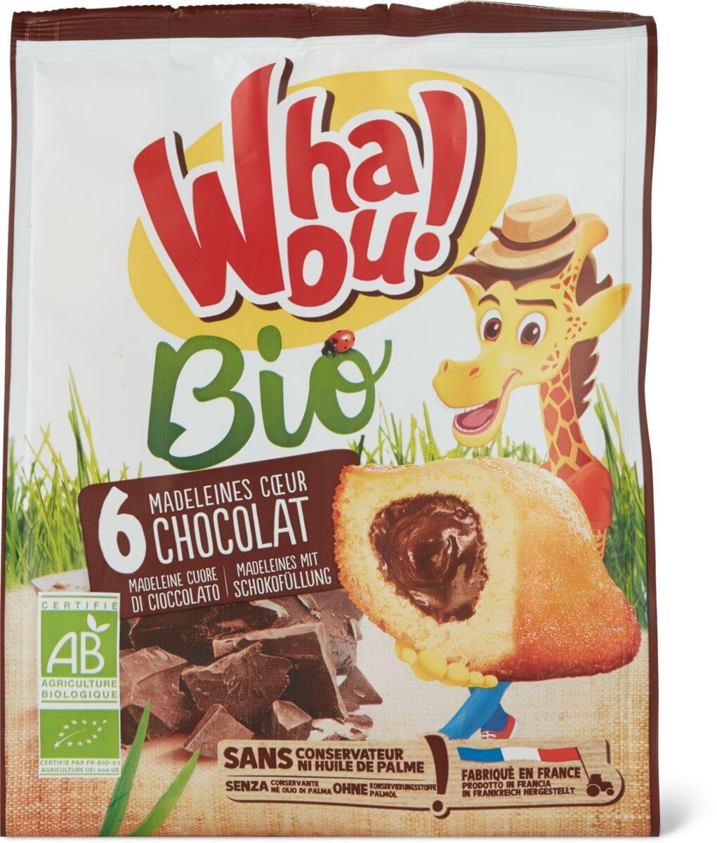 Bio Whaou Madeleines choco