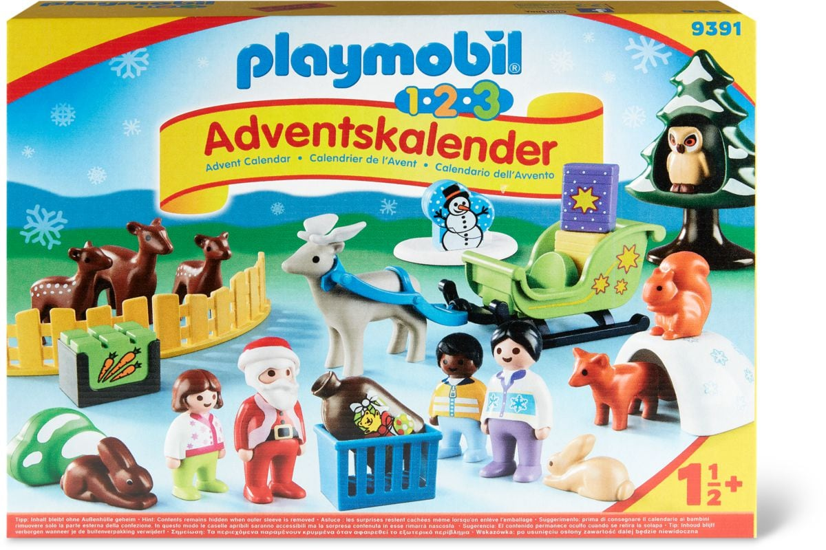 Calendario dell'Avvento 1.2.3 'Natale nel bosco degli animali'