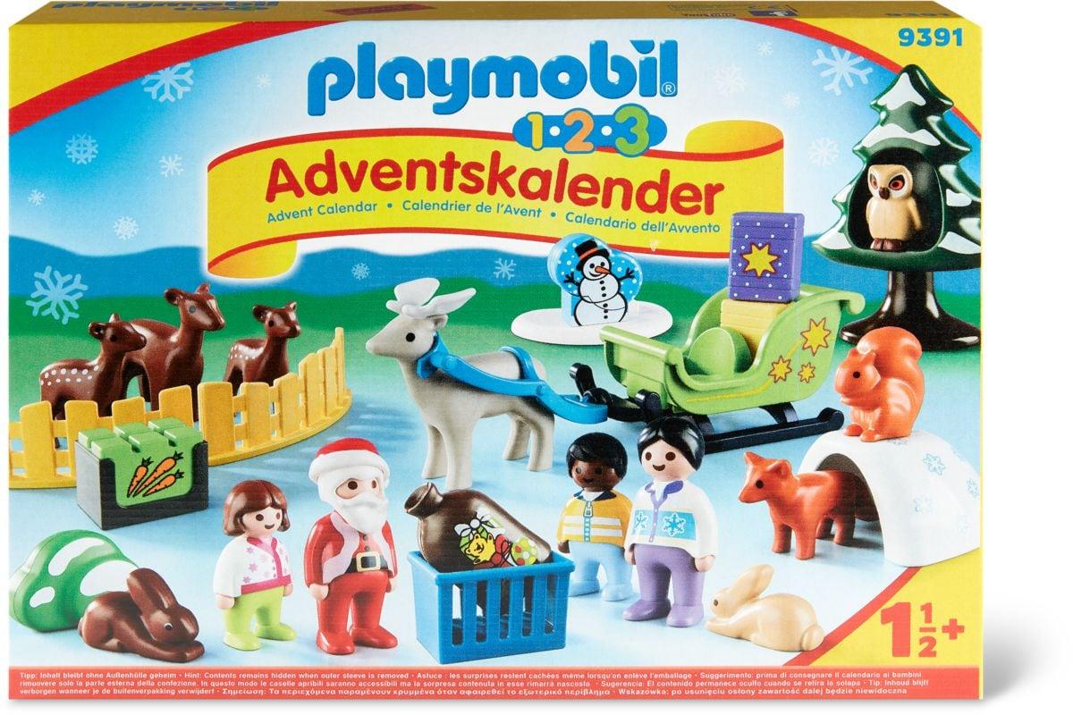 Calendrier de l'Avent 1.2.3 'Père Noël et animaux de la forêt'